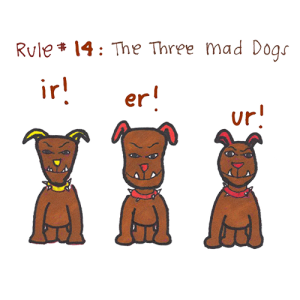 Rule 14 - The Three Mad Dogs